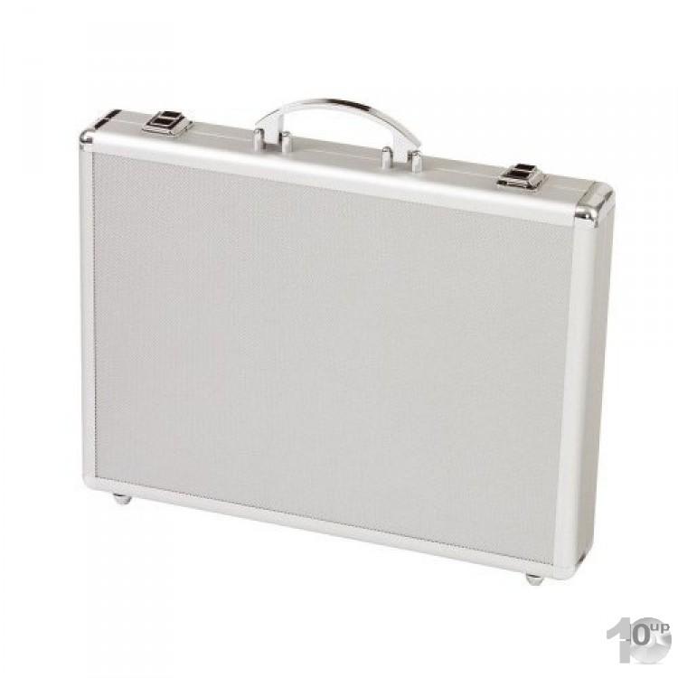 alumaxx attach koffer minor aluminum silber alukoffer aktenkoffer. Black Bedroom Furniture Sets. Home Design Ideas