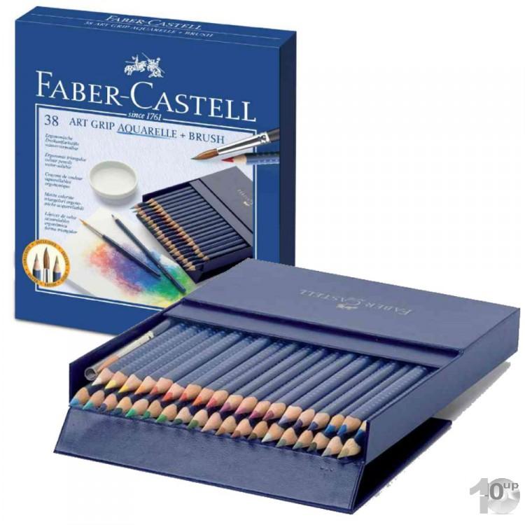 faber castell buntstifte art grip aquarelle 38er. Black Bedroom Furniture Sets. Home Design Ideas